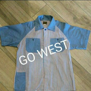 GOWEST - 90s.GOWESTストライプシャツ