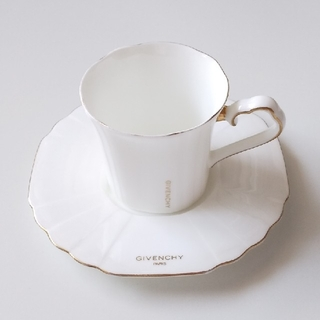 ジバンシィ(GIVENCHY)の正規品 GIVENCHY カップ&ソーサー  アンティーク 食器(グラス/カップ)