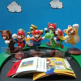 フルタセイカ(フルタ製菓)のスーパーマリオ チョコエッグ フィギュア マスコット おかし おもちゃ マリオ(ゲームキャラクター)