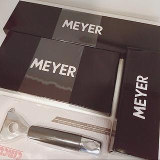 マイヤー(MEYER)の新生活応援☆MEYER 包丁、シャープナー、キッチンバサミ、ピーラーset(調理道具/製菓道具)