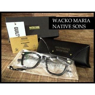 ワコマリア(WACKO MARIA)の※専用 新品 ワコマリア ネイティブサンズ KOWALSKI メガネ(サングラス/メガネ)