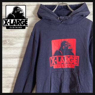 XLARGE - 【即売れ】エクストララージ ビッグロゴ パーカー