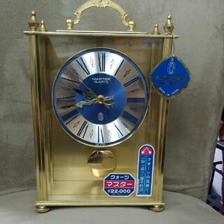 珍しい日新時計 置時計 マスタークウォーツ(置時計)