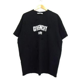 ジバンシィ(GIVENCHY)のジバンシィGIVENCHY■DESTROYED LOGO TEE Tシャツ(Tシャツ/カットソー(半袖/袖なし))