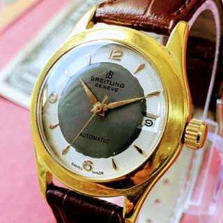 ブライトリング(BREITLING)の#1330【高級感溢れる文字盤】メンズ腕時計 ブライトリング 動作良好 (腕時計(アナログ))