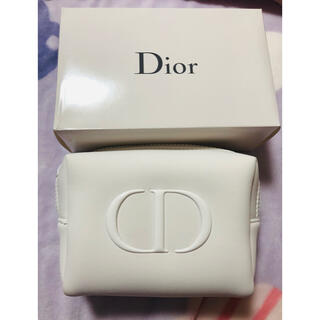 Christian Dior - Dior  ノベルティ ふわふわポーチ