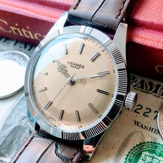 Hermes - #1331【お洒落なブランド】メンズ 腕時計 エルメス 動作良好 ヴィンテージ