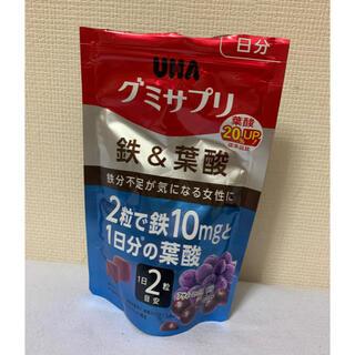 ユーハミカクトウ(UHA味覚糖)のグミサプリ 鉄×葉酸 残り9割(その他)