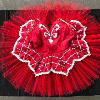 チャコット(CHACOTT)のバレエ衣装 赤(衣装)