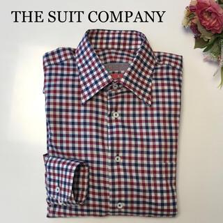 THE SUIT COMPANY - 【新品】Cucitura 長袖シャツ S  ザスーツカンパニー