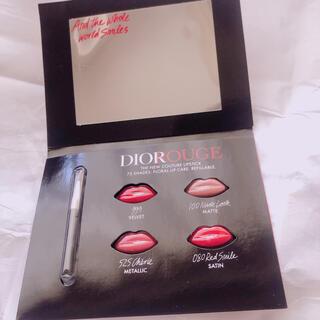 Christian Dior - ディオール ルージュ  口紅 リップ サンプル