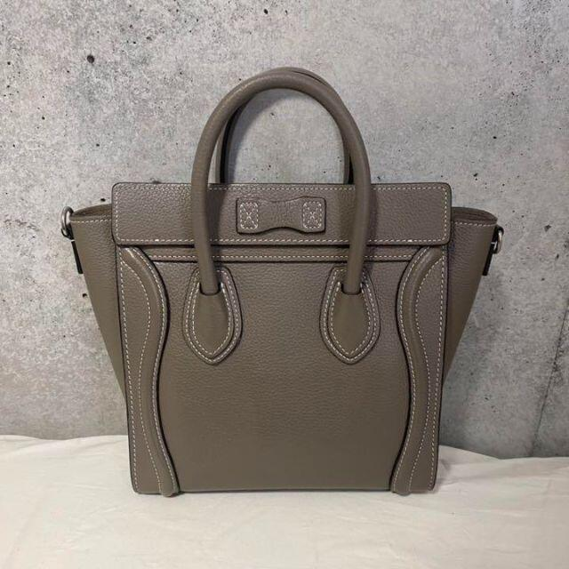celine(セリーヌ)のセリーヌ ラゲージナノ スリ レディースのバッグ(ショルダーバッグ)の商品写真