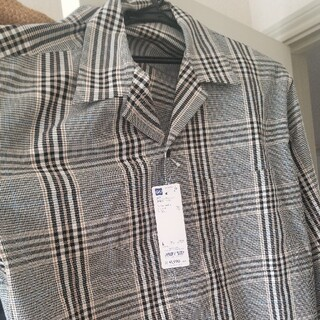 GUオープンカラーシャツ 新品未使用 チェック