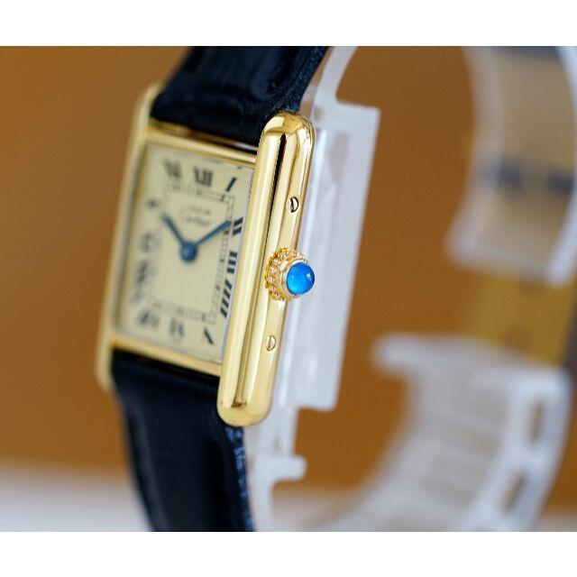 Cartier(カルティエ)の美品 カルティエ マスト タンク アイボリー SM Cartier レディースのファッション小物(腕時計)の商品写真