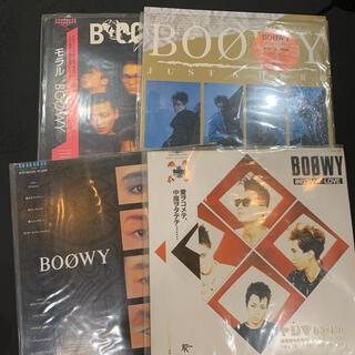 【BOOWY】激レア レコードセット 【中古】4枚セット ボウイ 激レア ボーイ(その他)