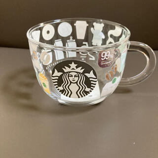 Starbucks Coffee - スタバ 25周年記念 耐熱マグカップ 桜の紙袋付き