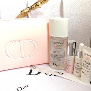 Dior - ディオール スノー コフレ ポーチ セット ピンク