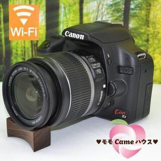 Canon - キャノン kiss X3★スマホに転送OK♪簡単操作の一眼レフ★1539