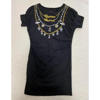 Vivienne Westwood - ヴィヴィアンウエストウッド Tシャツ ワンピース
