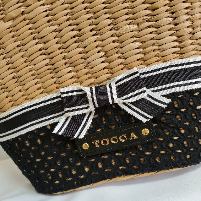 TOCCA(トッカ)のトッカ tocca かごバッグ 春夏 かご レディースのバッグ(かごバッグ/ストローバッグ)の商品写真