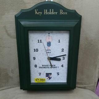 キーホルダー付き掛け時計 ムーブメント 栃木時計(掛時計/柱時計)