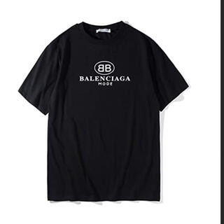 Balenciaga - バレンシアガ tシャツ 黒 未使用 半袖 ブラック