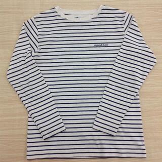 mont bell - モンベル ボーダー長袖Tシャツ 130 ★02YE04151471
