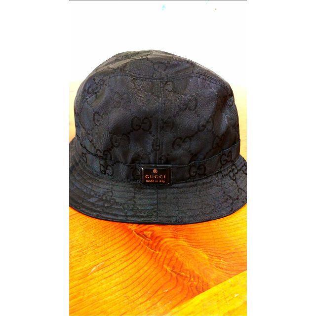 Gucci(グッチ)のGUCCI バケットハット ブラック L メンズの帽子(ハット)の商品写真