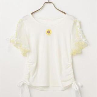 リズリサ(LIZ LISA)の値下げ中♡ひまわり Tシャツ LIZ LISA リズリサ(Tシャツ(半袖/袖なし))