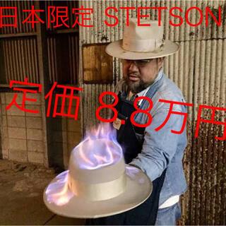 ダブルアールエル(RRL)の希少 STETSON ビンテージ whippet Borsalino RRL(ハット)