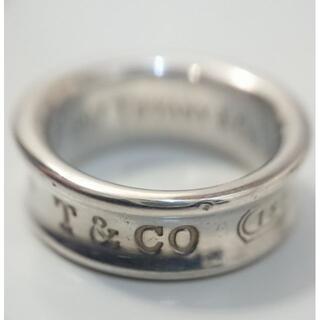 Tiffany & Co. - 9009 ティファニー 1837 リング 10号 シルバー925