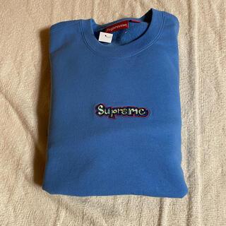 Supreme - supreme gonz logo crewneck Blue M 青