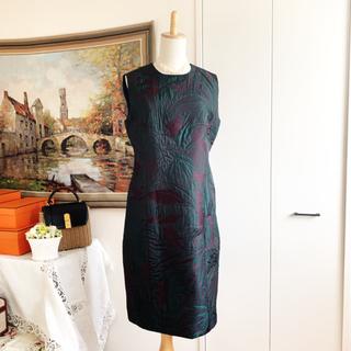 Salvatore Ferragamo - 未使用 サルバトーレフェラガモ  総刺繍 着物 ワンピース ドレス