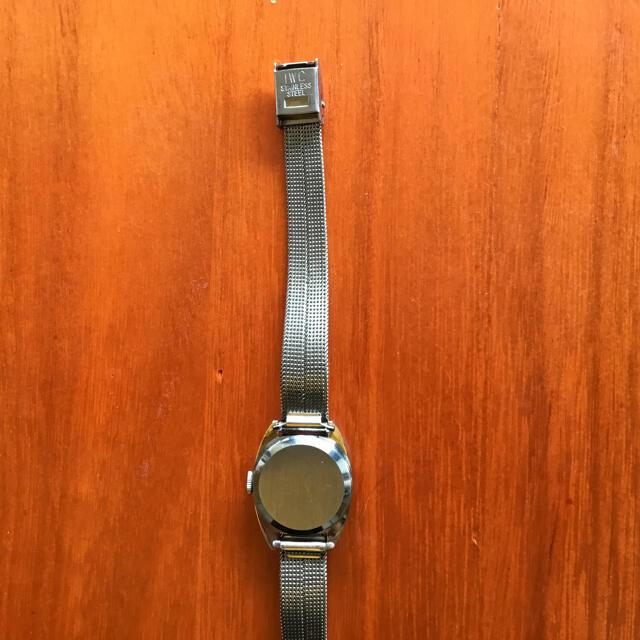 IWC(インターナショナルウォッチカンパニー)のヴィンティージI W Cレディース腕時計手巻き 純正ベルト レディースのファッション小物(腕時計)の商品写真