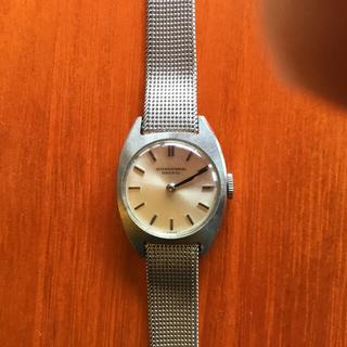 ヴィンティージI W Cレディース腕時計手巻き 純正ベルト