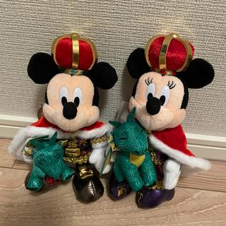 Disney - ディズニーランド 38周年 ぬいぐるみバッジ ミッキー ミニー