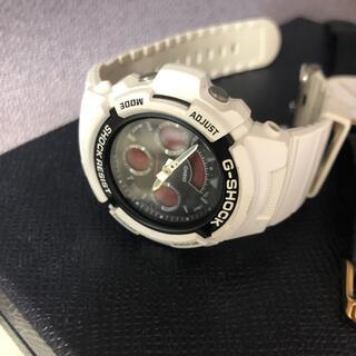 ベビージー(Baby-G)のG-SHOCK白時計(腕時計(デジタル))