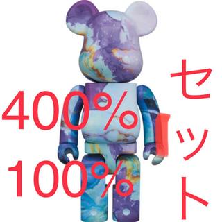 メディコムトイ(MEDICOM TOY)のベアブリック BE@RBRICK marble 400% 100% セット(フィギュア)