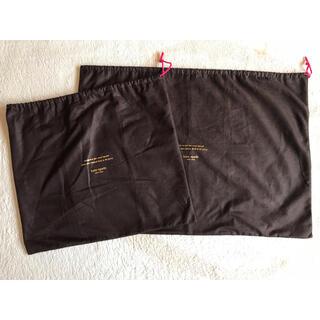 ケイトスペードニューヨーク(kate spade new york)のケイトスペード ニューヨーク 布袋 2枚 保存袋 (ショップ袋)