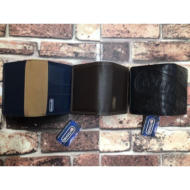 人気ブランド 『アウトドア』 合皮2つ折り財布(6種から)1個 3850円が メンズのファッション小物(折り財布)の商品写真