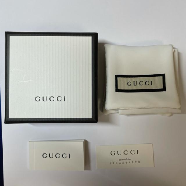 Gucci(グッチ)のGUCCI  グッチ ネックレス 40cm 190489-J8400-8106 メンズのアクセサリー(ネックレス)の商品写真