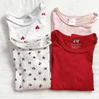 H&M - 長袖4枚 12-18m、18-24mセット売り