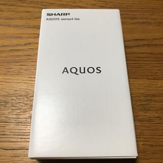 SHARP - AQUOS sense 4 lite ブラック black 値下げ不可