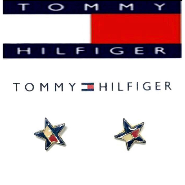 TOMMY HILFIGER(トミーヒルフィガー)のトミーヒルフィガー ピアス 星 スター アメリカン カジュアル レディースのアクセサリー(ピアス)の商品写真