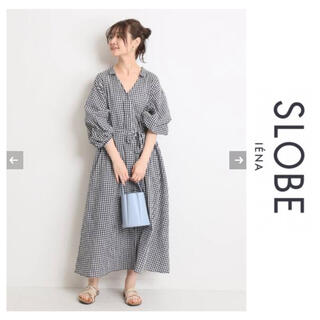 IENA SLOBE - 2020SS SLOBE IENA コットンボイルシャツワンピース☆イエナ
