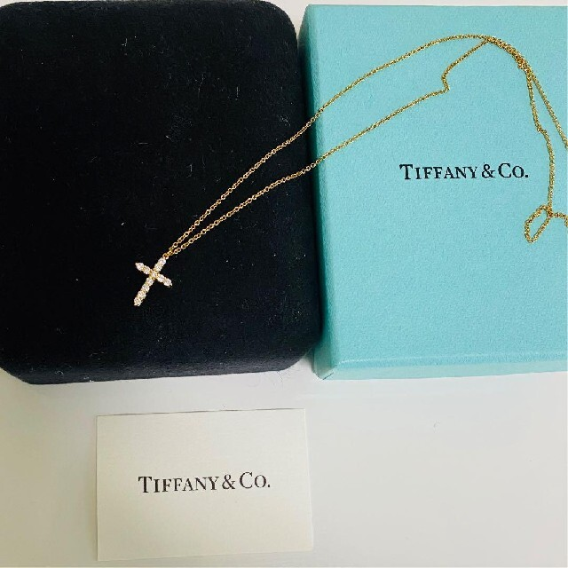 Tiffany & Co.(ティファニー)のTiffany ティファニー k18 ネックレス レディースのアクセサリー(ネックレス)の商品写真