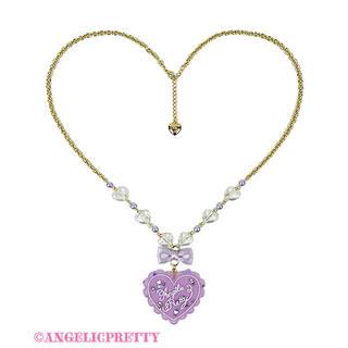 Angelic Pretty - Angelic Pretty トッピングハートネックレス