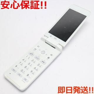 キョウセラ(京セラ)の良品中古 au KYF31 GRATINA 4G ホワイト (携帯電話本体)