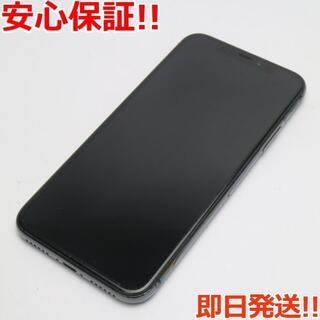 アイフォーン(iPhone)の美品 SIMフリー iPhoneX 256GB スペースグレイ (スマートフォン本体)