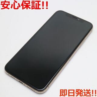アイフォーン(iPhone)の美品 SIMフリー iPhoneXS 512GB ゴールド 白ロム (スマートフォン本体)